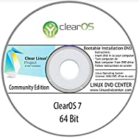 """ClearOS Linux 7 """"Community Edition"""" (64Bit) - Bootable Linux Installation DVD"""