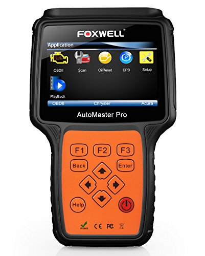 FOXWELL NT680 Lite Autodiagnosescanner Kfz-Scan-Tool 4 Systemprüfung Auto Motor ABS SRS Airbag Getriebecodeleser mit EPB Oil Service Light Reset