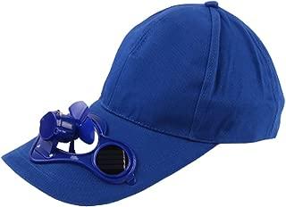 Solar Energy Belt Recharge Storage Belt Switch Fan Cap Sun hat Peaked Cap