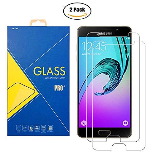 [2 Pack] Panzerglas Schutzfolie Samsung Galaxy A5 (2016) SM-A510 / A510F / A510H / 510 - Gehärtetem Glas Schutzfolie Bildschirmschutzfolie für Samsung Galaxy A5 (2016) SM-A510 / A510F / A510H / 510