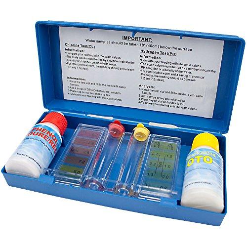 SplashTech 2-Way Pool Water Testing Kit
