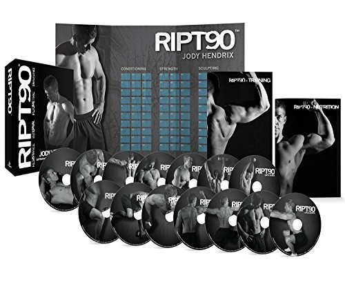 RIPT90: 90 Day 14-DVD Workout Program with 14 Exercise Videos Training...