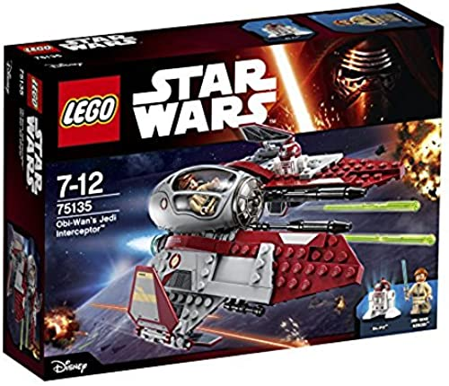 lo último LEGO Star Wars - Interceptor Jedi de de de OBI WAN (75135)  Todo en alta calidad y bajo precio.