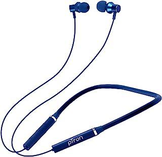 PTron Tangentbeat Wireless Bluetooth In-Ear Neckband Headphone With Mic (Dark Blue)
