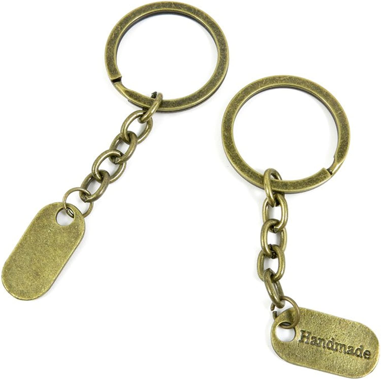 210 Pieces Fashion Jewelry Keyring Keychain Door Car Key Tag Ring Chain Supplier Supply Wholesale Bulk Lots B2WG3 Handmade Signs Tag