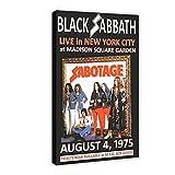 Black Sabbath Replika Madison Square Garden 1975 Konzert,
