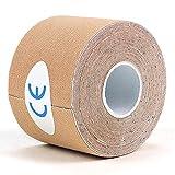 Hamkaw Kinesiology Tape, Cinta Kinesiología 5 m x 5 cm...