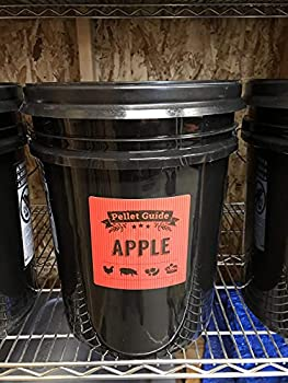 Pellet Smoker Bucket Labels for Smoker Pellet Storage