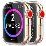 [2 Pack] Funda Apple Watch 40mm Series 6/5/4/SE, Protector Pantalla iWatch Case Protección Completo...