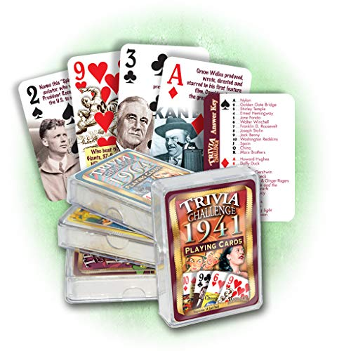 1941 Trivia Playing Cards