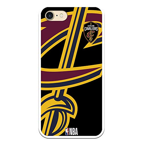 Personalaizer Funda para iPhone 7 - iPhone 8 - SE 2020 de NBA Los Angeles Lakers, Golden State Warriors, New York Knicks, Chicago Bulls, Cleveland Cavaliers, Boston Celtics(Cleveland Cavaliers)