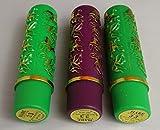 3 pintalabios magicos, duraderos, hidratantes,originales HARE Nº33 made in Taiwan versión antigua sin aroma, duradero - calidad superior pegatina dorada (Taiwan)