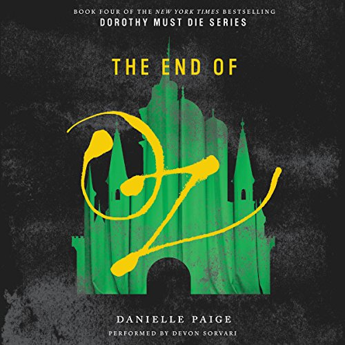 The End of Oz audiobook cover art