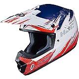 HJC Helmets CS-MX 2 Helmet - Krypt (Large) (RED/White/Blue)