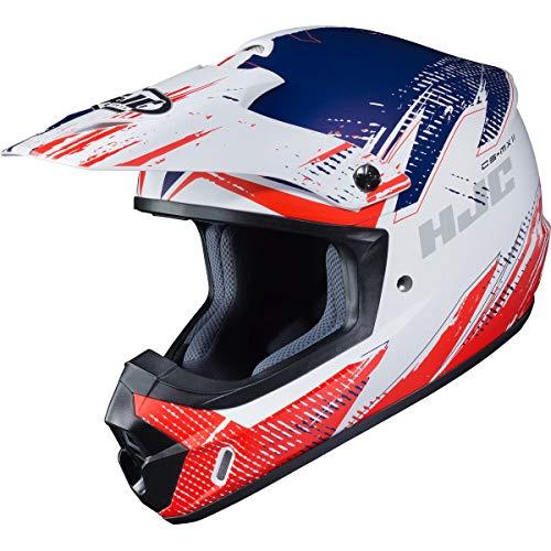 HJC CS-MX 2 Helmet - Krypt (X-Large) (RED/White/Blue)