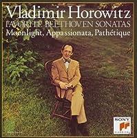 ベートーヴェン:ピアノソナタ 「月光」「悲愴」「熱情」他