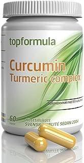 Curcumin, Kurkumin, Curcumin kapslar, Gurkmeja tabletter, Gurkmeja kapslar, Curcumin tillskott | Svensktillverkat av Topfo...