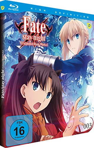 Fate/stay night: Unlimited Blade Works - Vol.3 - [Blu-ray]