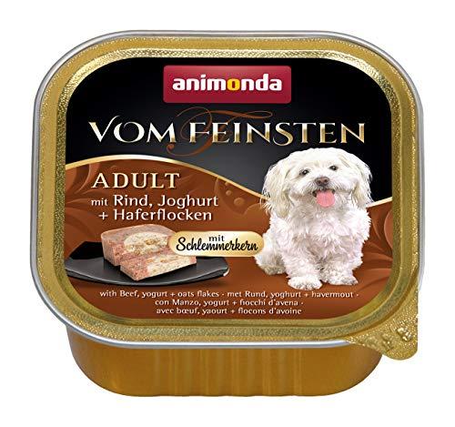 Animonda chien vom Feinsten Adult avec bœuf, Yaourt & flocons d'avoine 150 g