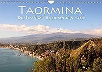 Taormina, die Stadt mit Blick auf den Aetna (Wandkalender 2022 DIN A4 quer): Ein Ausblick fuer die Goetter (Monatskalender, 14 Seiten )