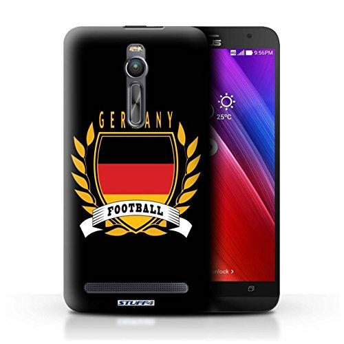 Stuff4 Hülle / Hülle für Asus Zenfone 2 ZE551ML / Deutschland/Deutsch Muster / Fußball-Emblem Kollektion