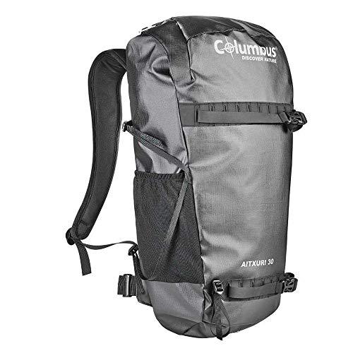 COLUMBUS Sac à Dos Aitxuri 30 Randonnée Sac a Dos Voyage 30L Multifonction Camping Trekking Couleur Noir