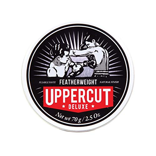Uppercut Deluxe Featherweight Hair Styling Paste, Professional Water-Based Styling Product For Men With A Low Shine And Firm Hold 70g