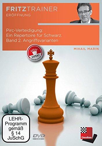 FRITZ Trainer Eröffnung - Pirc-Verteidigung: Ein Repertoire für Schwarz. Band 2. Angriffsvarianten (Mihail Marin)