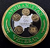 Operation Enduring Freedom Veteran Challenge Coin