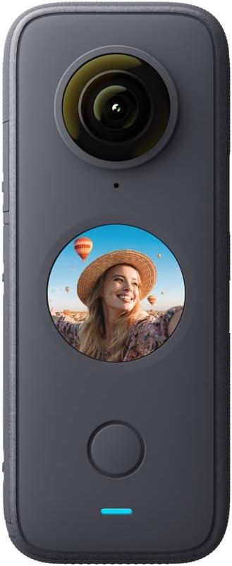 33 opinioni per Insta360 ONE X2- Fotocamera 360 con risoluzione 5,7K con stabilizzazione,