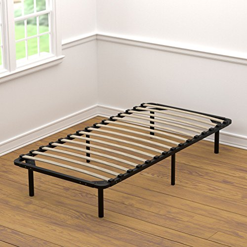 Handy Living Wood Slat Bed Frame, Twin Extra Large