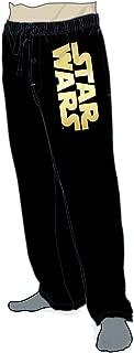 Star Wars Gold Foil Logo Pajama Sleep Pants Licensed