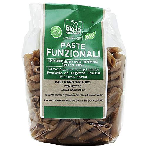 Oltresole - Penne di lupino biologiche, pasta proteica 350 gr