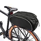 LERT Bolsa portaequipajes de 40 cm x 16 cm x 21 cm para bicicleta de montaña