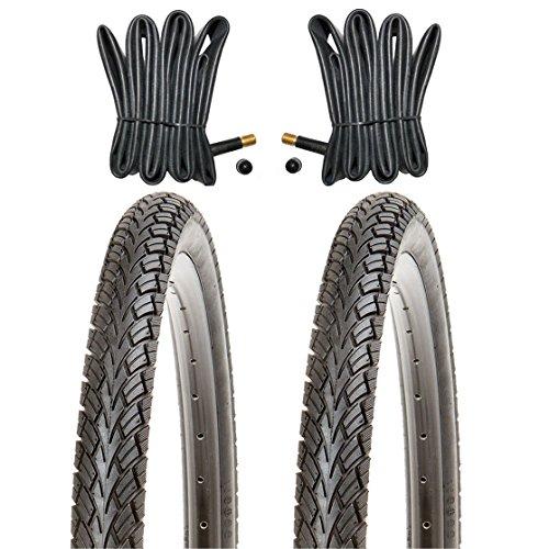 Kujo 2X 20Zoll Reifen 20x1.75 Fahrradreifen ETRTO 47-406 22 TPI +2X 20 AV