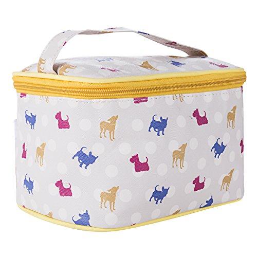 TaylorHe Make-up Bag Impermeabile Beauty Case Borsa Cosmetico Trucco Sacchetto borsa da toilette cerniera con manico cavallo