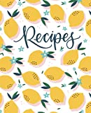 Recipe Book: A Blank Cookbook To Write In Your Own Recipes