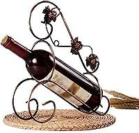 SCH-SC ワインラック ワインホルダー レトロスタイルブロンズワインホルダーメープルリーフワインラックホルダープリティオーナメントホームアクセサリーバー用の器物 インテリア