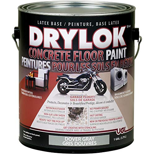 3.79L Dover Grey Latex Concrete Floor Paint