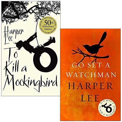 Harper Lee Collection 2 Books Set (To Kill A Mockingbird, Go Set a Watchman)