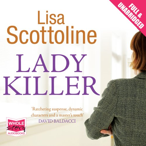 Lady Killer audiobook cover art