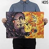 Loheag Clinor Naruto Shippuuden Poster, Anime Fanartikel