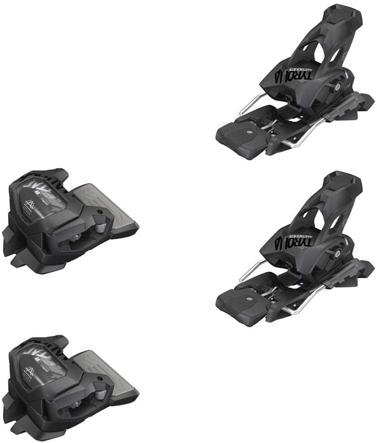 Tyrolia Attack2 Al sold Time sale out. 13 GW Performance Ski Solid Black 85m Bindings