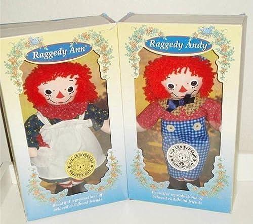 Raggedy Ann & Raggedy Andy 80th & 75th Anniversary by Hasbro