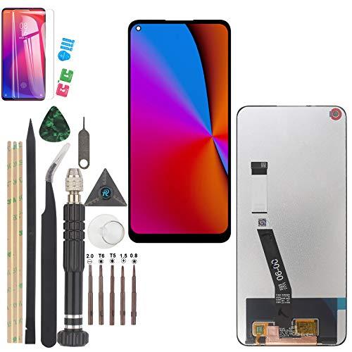 YWL-OU per Xiaomi Redmi Note 9/Redmi 10X 4G LCD Display Digitalizzatore Montaggio Touch Screen con Una Serie di Strumenti pratici (Nero)