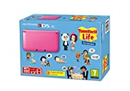 Nintendo Handheld Console 3DS XL - Pink Limited Edition with Tomodachi Life
