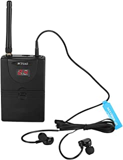 $62 » EBTOOLS Wireless in Ear Monitor System Receiver, 2.4GHz Professiona On Stage Audio System Receiver for Stage, Studio, Exhibit, Lecture, Speech
