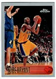 KOBE BRYANT 1996-97 Topps Chrome Rookie Card RC #138 Lakers Reprint - Mint Condition. rookie card picture