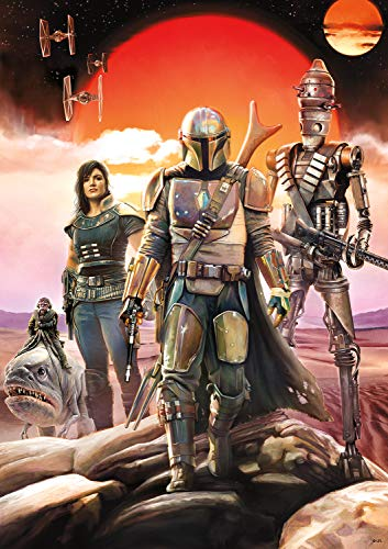 Star Wars - The Mandalorian - Bounty Hunting is A Complicated Profession… - 500 Piece Jigsaw Puzzle