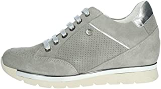 Keys Scarpe da Donna Sneakers camoscio Grigio 5551-GRIGIO